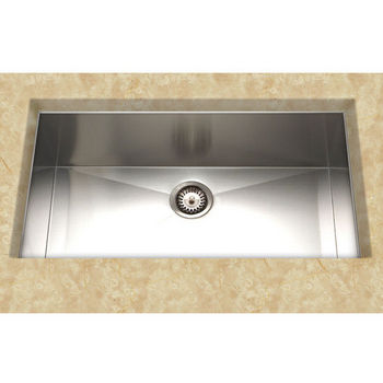 "Cantrio Koncepts S/Steel Kitchen Sink 19"" W x 32"" D x 9"" H"