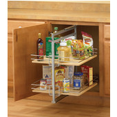 Base Roll-Out Pantry - White (Frame Only)