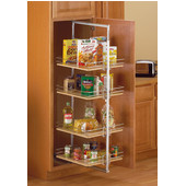 Tall Roll-Out Pantry - White (Frame Only)