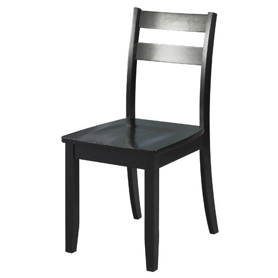 Linon Sutton Collection Chair, Black