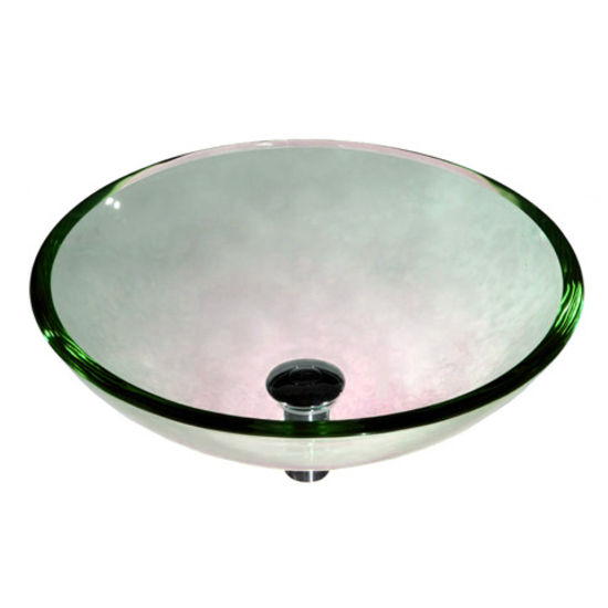 15 mm Tempered Glass Rounded Edge Vessel Bowl