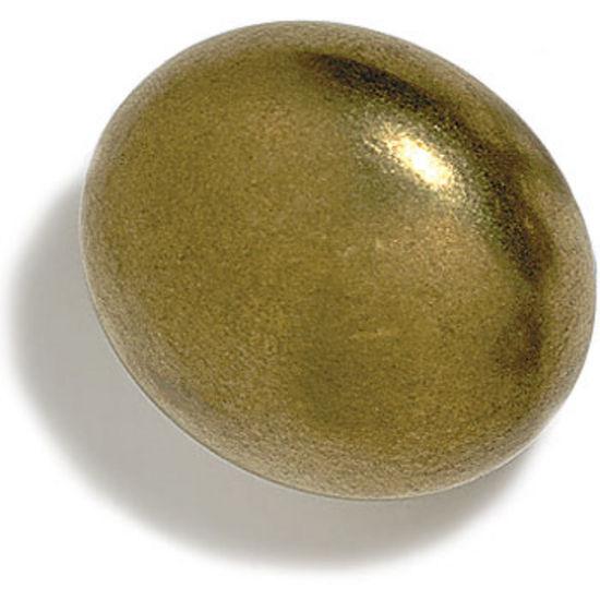 Modern Objects Ellipse 3 Knob, 1 inch Diameter, Antique Pewter