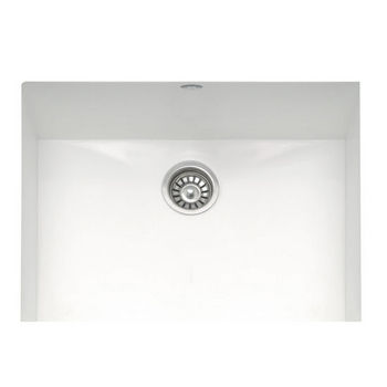 Mitrani Titan Quartz Single Bowl Kitchen Sink