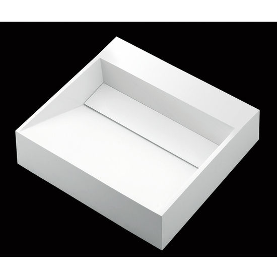 Mitrani Muscat 515 Surface Mount Bathroom Sink, 20 1/4 W X 19
