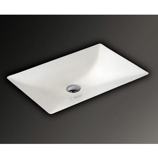 Mitrani SV 570 Undermount Bathroom Sink, 22-1/16 W x 15-3/16 D x 5-1/8 H, Biscuit, Shown in White