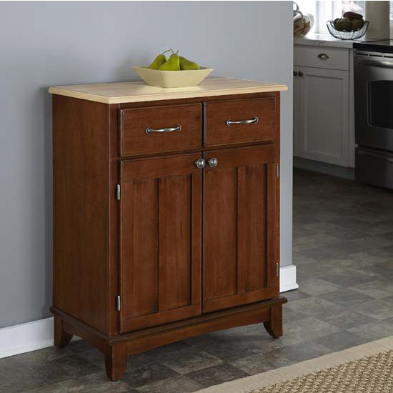 Furniture dining room furniture server small natural finish server - Small dining room servers ...
