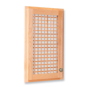 Omega National Square Lattice Cabinet Door Insert