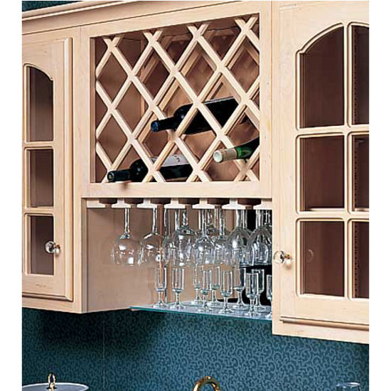 diagonal wine rack plans