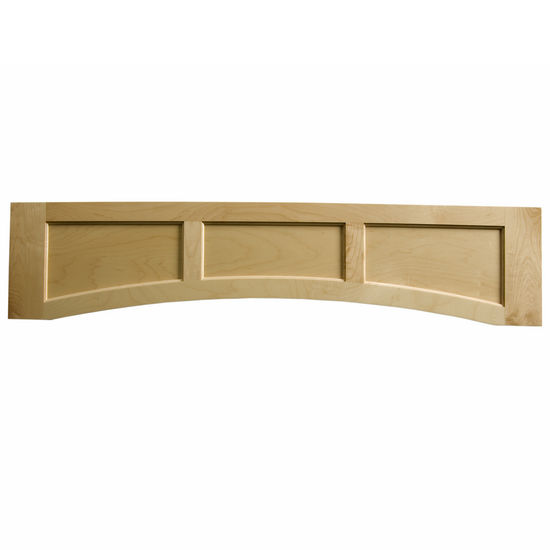 Omega National Solid Wood Flat Panel Valance, 60� W x 10-1/2� H