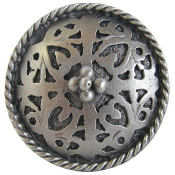 Knob, Moroccan Jewel, Antique Pewter