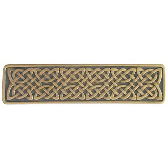 Pull, Celtic Isles, Antique Brass