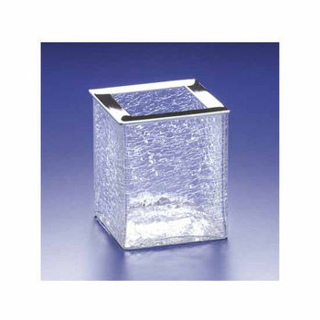 Nameeks Windisch Crackled Glass Brush Holder