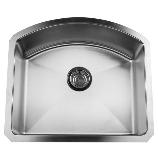 Stainless Steel D-Bowl Sink