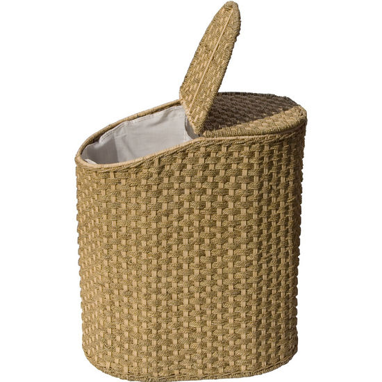 Wicker & Seagrass Laundry Sorter