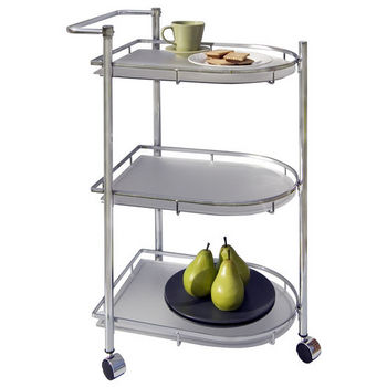 Neu Home Oval Serving Cart