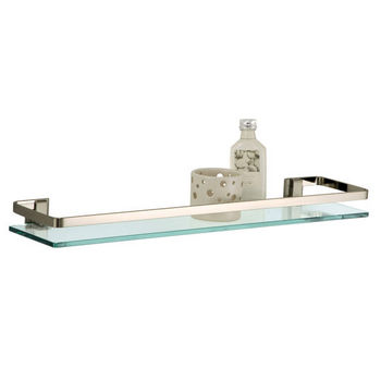 Neu Home Glass Shelf with Rail