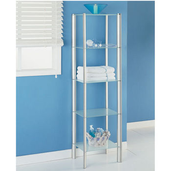 Neu Home Ellipse Collection 5 Tier Shelf