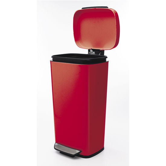 Oxo Stainless Steel Trash Can: Trash Cans: Free Standing & Built In Under Cabinet & Pull