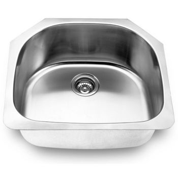Yosemite Home D�cor Undermount Single Bowl Kitchen Sink