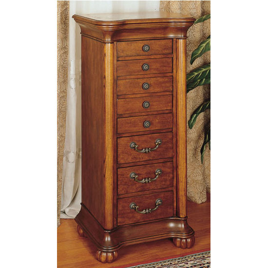 Jewelry Armoire w/Flip Top