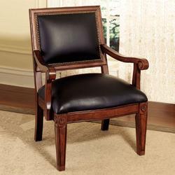 Powell - Jamestown Landing Accent Chair, 30 W x 28 3/4 D x 37 1/4 H, Deep Cherry