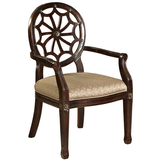 Powell Spider Web Back Accent Chair, 21-1/2W x 23-3/4D x 38-3/4H