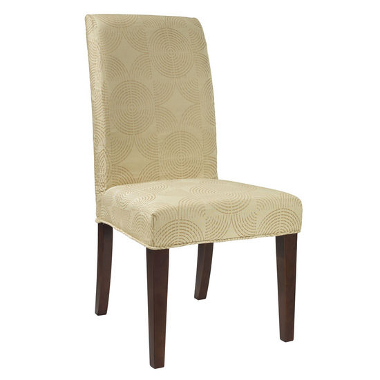 "Zest Yellow Circle ""Slip Over"" (Fits 741-440 Chair)"