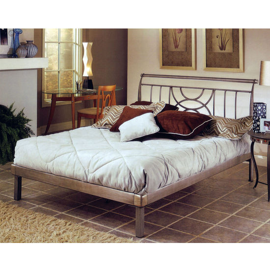 Hillsdale Furniture Mansfield Complete Queen Bed Set, Includes HB & Platform