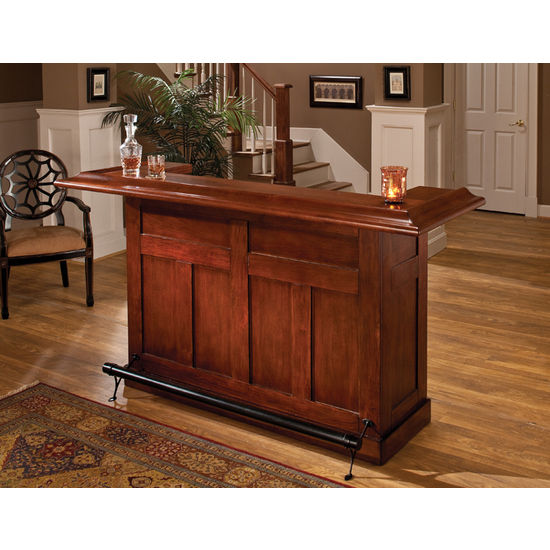 Large Bar & Optional Side Bar by Hillsdale Furniture