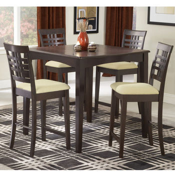 Tiburon 5-Piece Counter Height Dining Set
