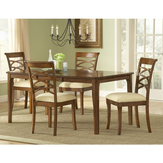 Small Rectangular Kitchen Table: Hillsdale Furniture Tailored Collection Rectangle Dining
