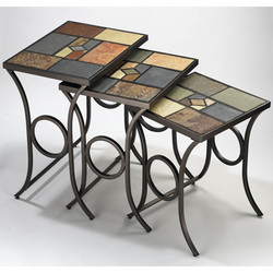 Hillsdale Pompei Nesting Tables, Set of 3