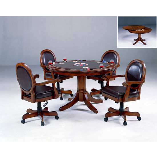 Warrington Game Table w/4 Chairs