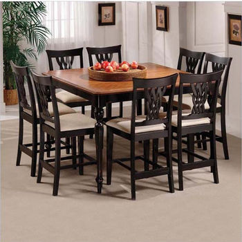 9-Piece Embassy Counter Height Dining Sets by Hillsdale Furniture