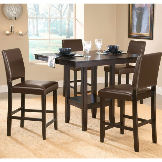 5-Piece Arcadia Counter Height Dining Set by Hillsdale Furniture