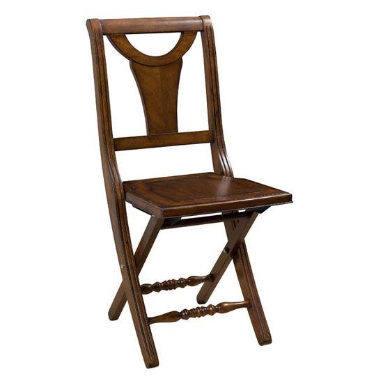 Hillsdale Furniture - Valletta Folding Chair, Tamarindo