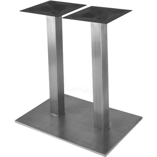 Table Bases Nikai Stainless Steel Rectangular Table Base