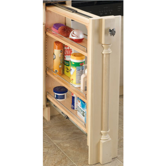Rev-A-Shelf Kitchen Base Cabinet Fillers With Pull-Out Storage
