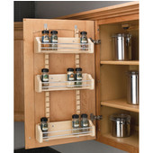 Adjustable Door Mount Spice Rack