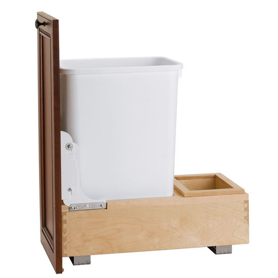 35 Quart Bottom Mount Waste Container
