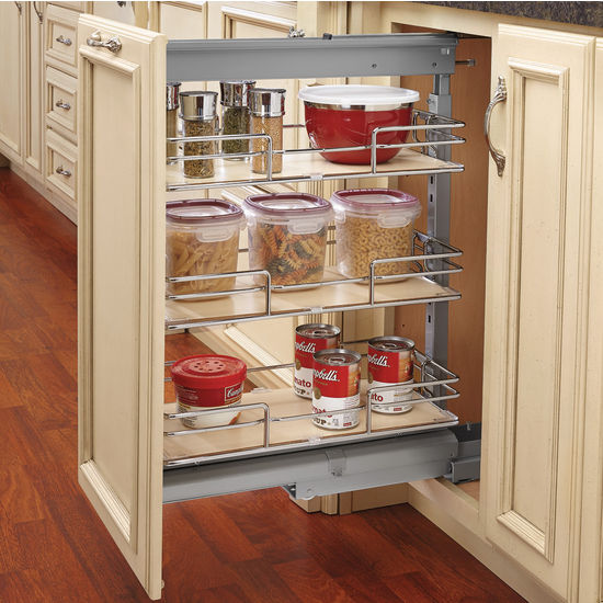 Compagnucci Glass Shelf Pantry