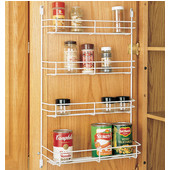 Door Mount Spice Rack