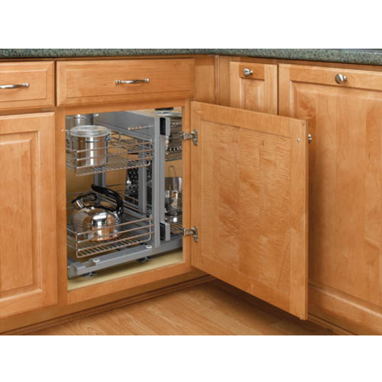 Rev A Shelf Kitchen Blind Corner Cabinet Optimizer