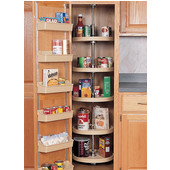 Kitchen Pantry Cabinet Lazy Susan 5 Tray Sets