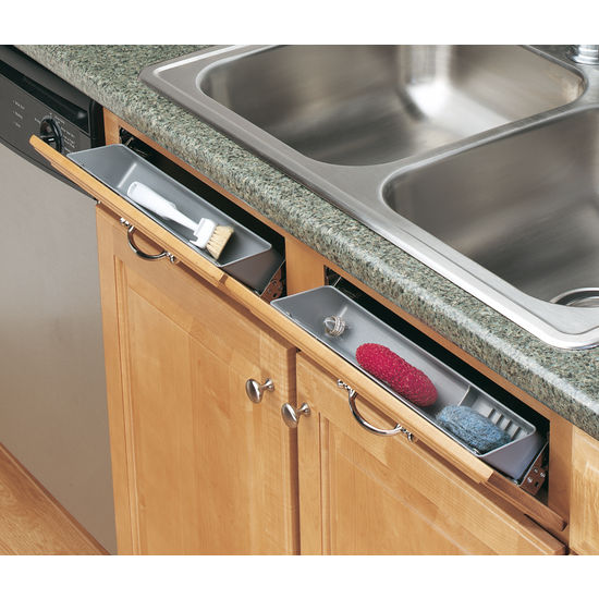 6572 series sink front tip out trays