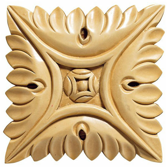 White River Large Square Rosettes