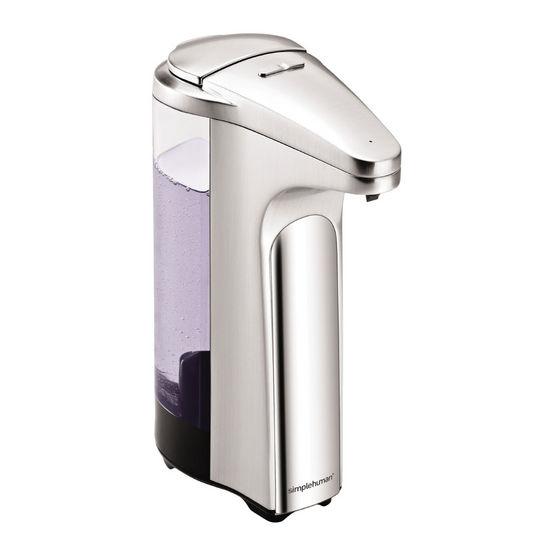 Soap dispenser pump brushed nickel - Brushed nickel soap dispenser pump ...
