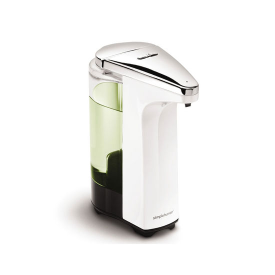 Simplehuman Compact Sensor Pump For Soap Or Sanitizer In White Or Black At