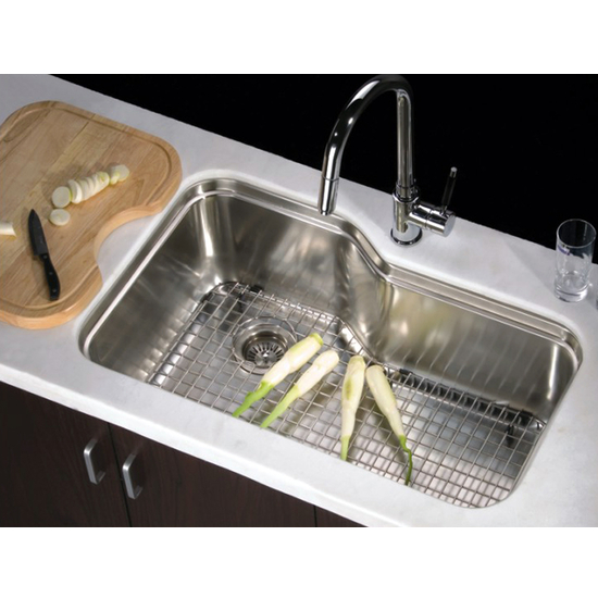 Single Series 16-Gauge Stainless Steel Undermount Sink