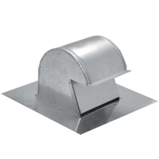 Attic Exhaust Fan Hood : Roof caps cap vents made for either flat or pitched